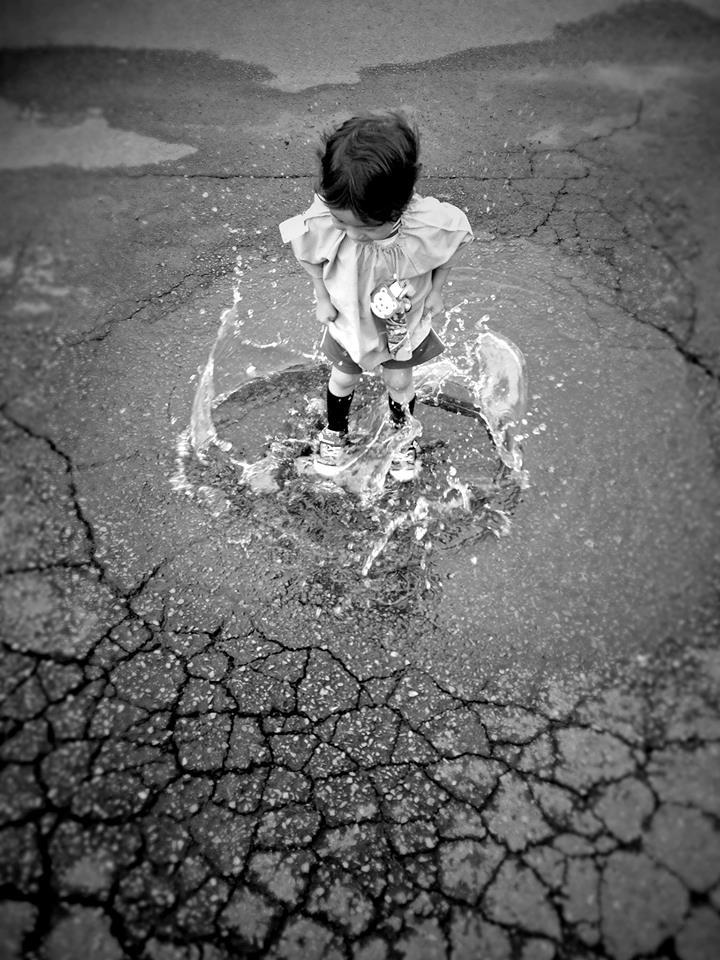 『水たまり』  撮影:M.Kobayashi