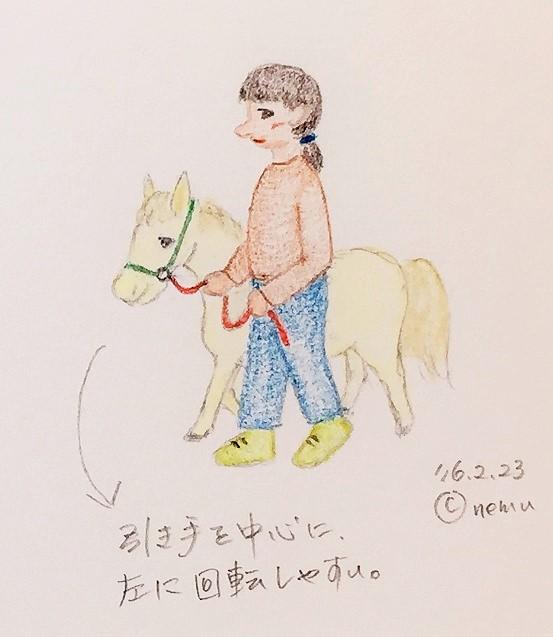 馬の引き方